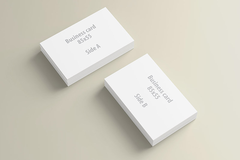 business card presentation template psd - business card presentation mock up template dealjumbo