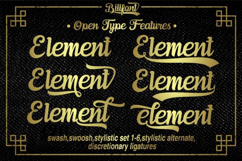 typeface billfont 2