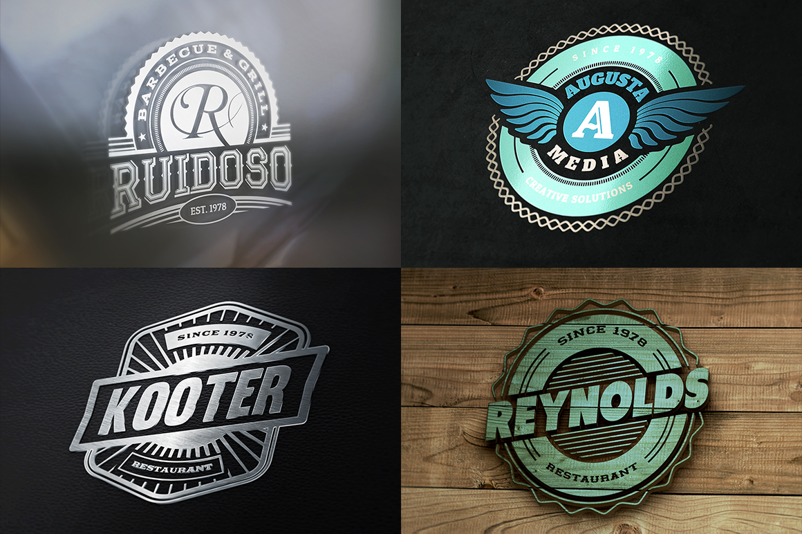 the ultimate logo templates mockups bundle dealjumbo com