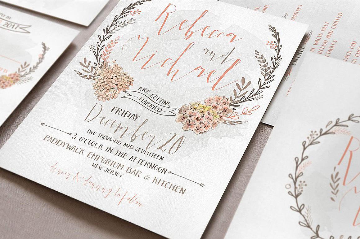 Elegant Wedding Invitations - Dealjumbo.com — Discounted design ...